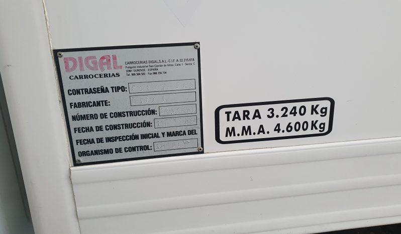 ALQUILER FURGONETA FORD TRANSIST FRIGORIFICA lleno